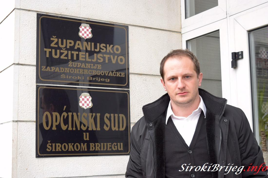 Josip Aničić, Viši stručni suradnik i službenik za odnose sa javnosti Županijskog tužiteljstva ŽZH